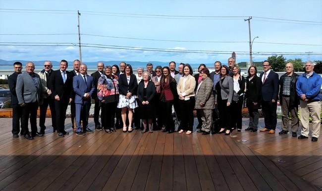 Participants à la rencontre régionale de Rivière-du-Loup (Crédit : Patrick Morin)